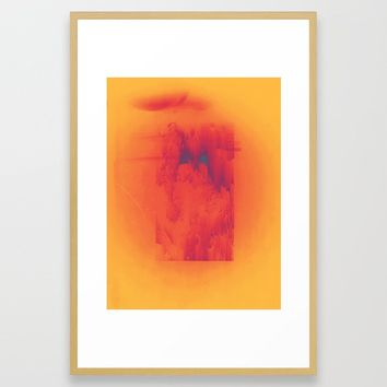 Body Heat Framed Art Print by duckyb