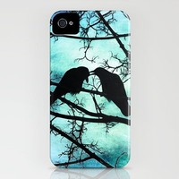 The Courtship of Crows iPhone Case by Tammy Wetzel | Society6