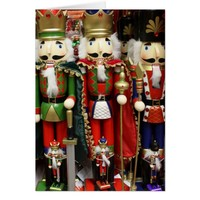 Three Wise Crackers - ChristmasNutcracker Soldiers Card