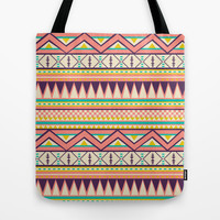 Ethnic love Tote Bag by Louise Machado
