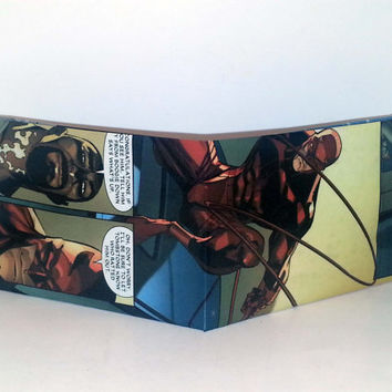 Comic Book Wallet// Daredevil