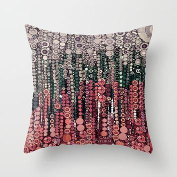 :: Come What May :: Throw Pillow by :: GaleStorm Artworks ::