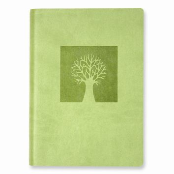 Tree of Life Faux Leather Essentials Journal - Embossing Personalized Gift Item