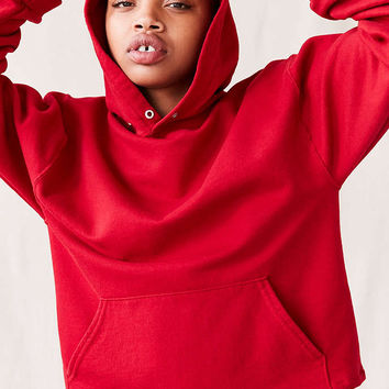 Urban Renewal Recycled Remade Pocket Hoodie Sweatshirt - Urban Outfitters