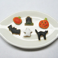 Halloween Cookies Dollhouse Miniature