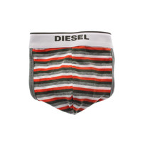Diesel Mens Cotton Striped Jock Strap