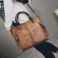 Women Bag Female Crossbody Tote Leather Handbags Leather Bags for Women Shoulder Bag Ladies Hand Bolsas Femininas Clutch Bolsas