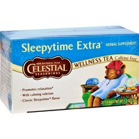 Celestial Seasonings Sleepytime Herbal Tea Caffeine Free - 20 Tea Bags - Case Of 6