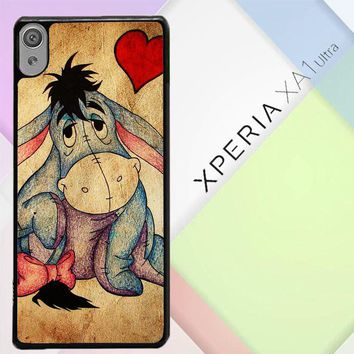Eeyore Wallpaper Y0311 Sony Xperia XA1 Ultra Case