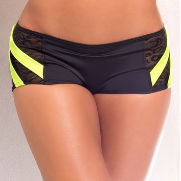 Vertical Vixen Power Hold Scrunch Workout Shorts