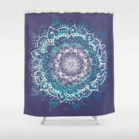 Boheme Mandala Shower Curtain by rskinner1122