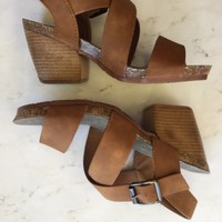 Strappy Sandal Wedge