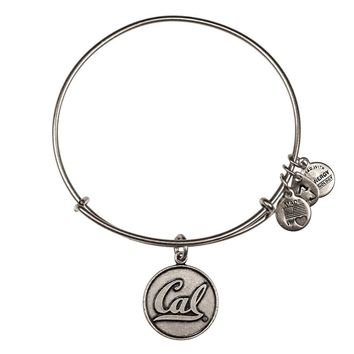 Alex and Ani University Of California Berkeley® Charm Bangle - Russian Silver