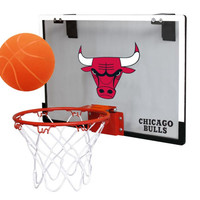 Chicago Bulls Game On Polycarb Hoop Set