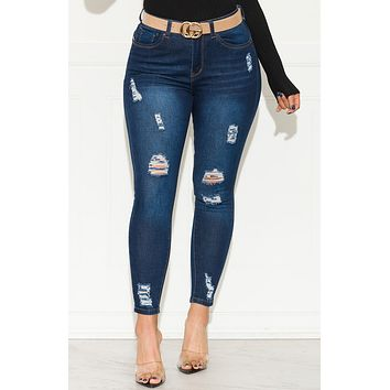 I Can Be Your Sunshine Skinny High Rise Jeans