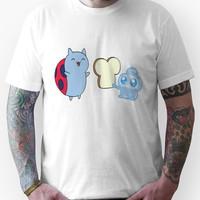 Catbug Makes A Friend (They're Having Soft Tacos Later) Unisex T-Shirt