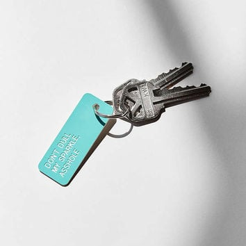 Various Keytags Keychain | Urban Outfitters