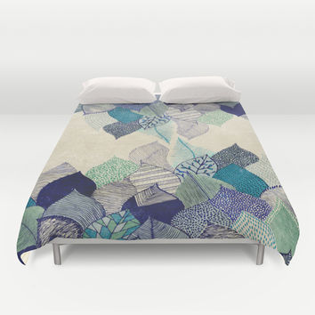 Leaf it to me Duvet Cover by Rskinner1122