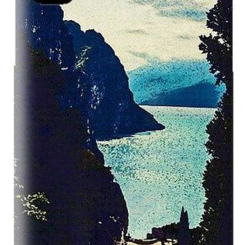 The Mountain And The Lake - Phone Case