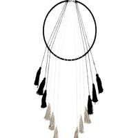 Circle of Life Tassel Boho Dreamcatcher