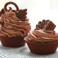 Chocolate Scented Cupcake Soap Choose Your Size