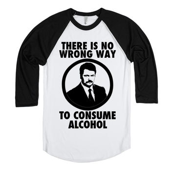 Ron Swanson on Alcohol