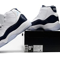 "Air Jordan 11 ""Midnight Navy"" 40---47"