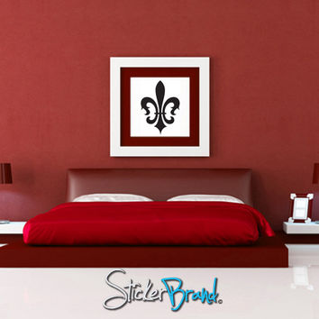 Vinyl Wall Decal Sticker French Fleur De Lys #KTudor108