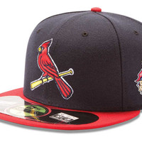 St. Louis Cardinals 2013 MLB AC World Series Patch 59FIFTY Cap