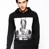 ASOS Hoodie With Snoop Dogg Print at asos.com