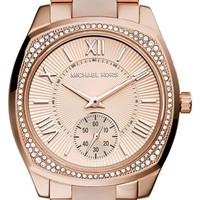 Women's Michael Kors 'Bryn' Crystal Bezel Bracelet Watch, 40mm