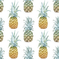 Pineapple Purist Removable Wallpaper
