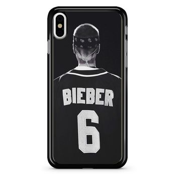 Justin Bieber Jersey iPhone X Case