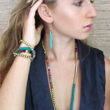 Nomad Tribal Necklace and Bracelet