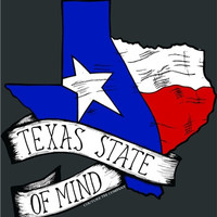 Southern Couture Texas State of Mind Girlie Bright T Shirt