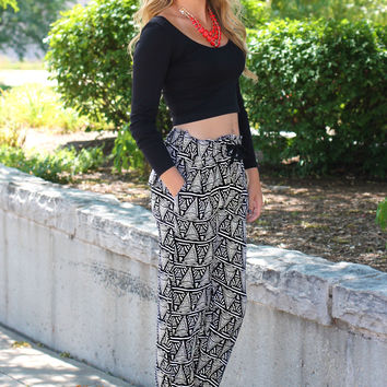 Tribal Talk Pants