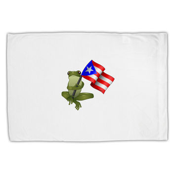 Coqui Holding Flag Standard Size Polyester Pillow Case