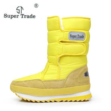 2017 New Winter Thickening Women'S Shoes Snow Boots Thermal Shoes Women'S Boots Slip-R