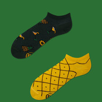SUMMER PINEAPPLE ANKLE SOCKS