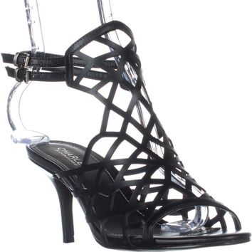 Charles Charles David Nadya Heeled Dress Sandals, Black, 10 US