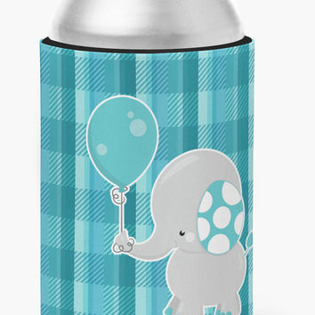Elephant with Balloon Can or Bottle Hugger BB6835CC