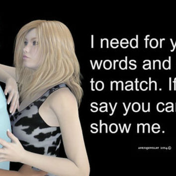I need for your words and actions to match. If you say you care, show me, JPG, Digital Download, Art and Quote By ANena Jewelry