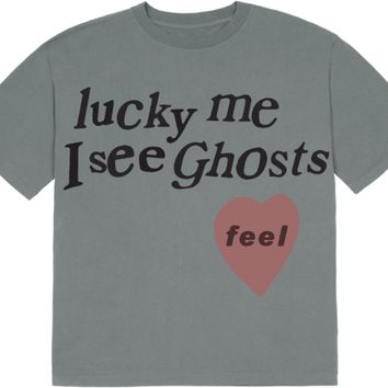 Kids See Ghosts Lucky Me Tee Glacier