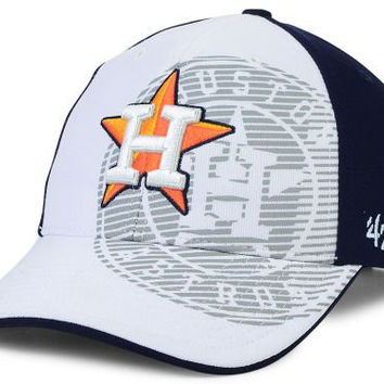 "New '47 Brand Houston Astros ""Chromite"" Velcro Adjustable Stretch Baseball MLB Hat Cap Current Era"