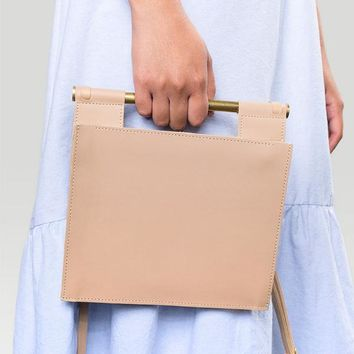 Zand-erover Frame Bag in Natural