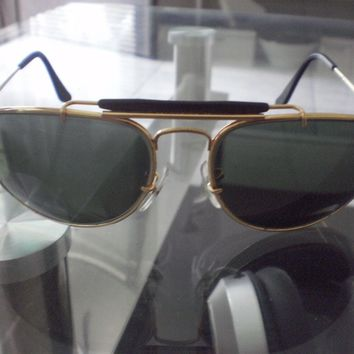 Ray-Ban B&L W1708 Vintage 1992 Olympic Games Aviator Sunglasses w/Case