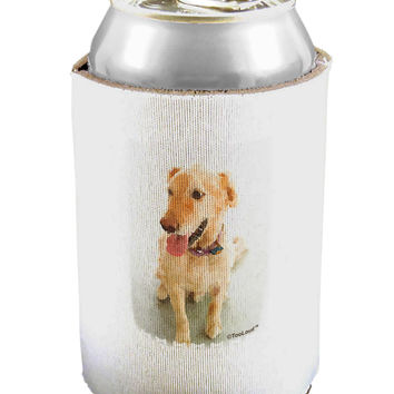 Golden Retriever Watercolor Can / Bottle Insulator Coolers