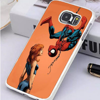 Marvel Mary Jane Watson Spiderman Samsung Galaxy S7 Edge Case Sintawaty.com