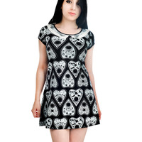 Rat Baby Wednesday Planchettes Dress Black Punk Gothic Ouija