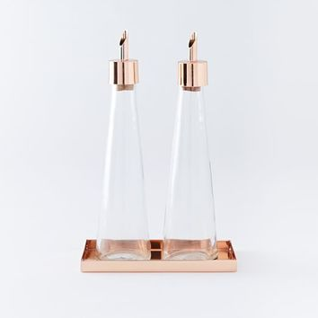 Copper Oil + Vinegar Set